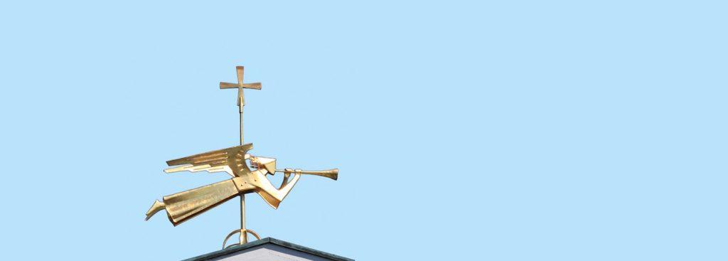 Goldener Engel HeiligGeist Kirche