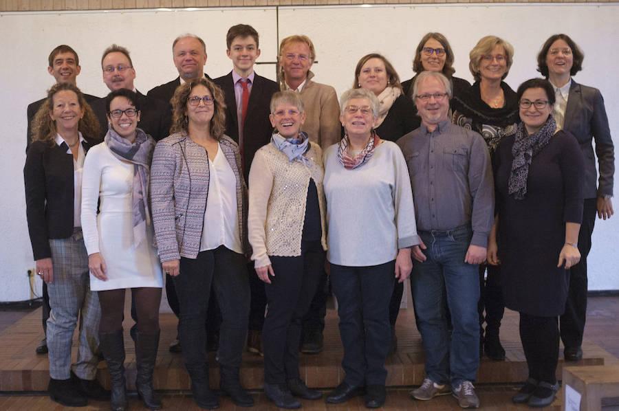 Gruppenfoto aller Kirchenvorstände
