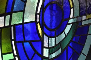 Kirchenfenstger Mosaik
