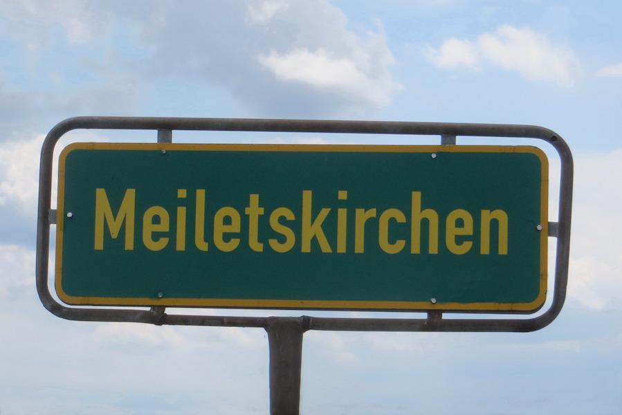 Ortsschild Meiletskirchen