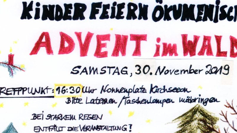 Advent im Wald