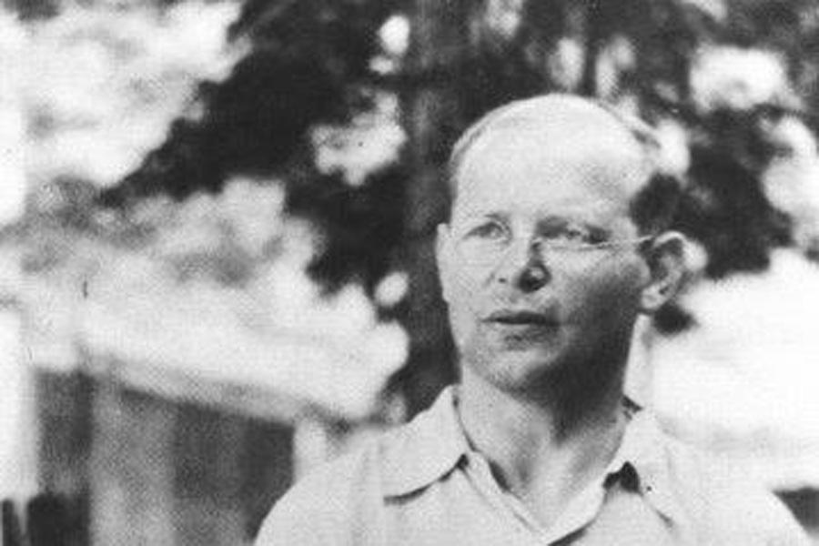 evangelischer Theologe und Widerstandskämpfer Dietrich Bonhoeffer